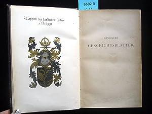 Hansische Geschichtsblätter. Jahrg. 1871 bis Jahrg. 1873. Herausgegeben vom Verein für ...