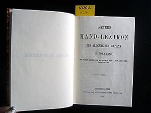 Meyers Hand-Lexikon des allgemeinen Wissens. Reprintausgabe. In: Meyer, Hermann Julius.