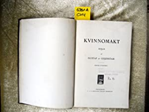 Kvinnomakt. Roman.: Geijerstam, Gustaf af.