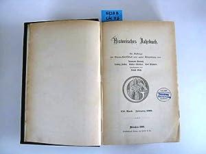 Historisches Jahrbuch. Im Auftrag der Görres-Gesellschaft. Hrsg. Joseph Weiß.: Grauert, ...