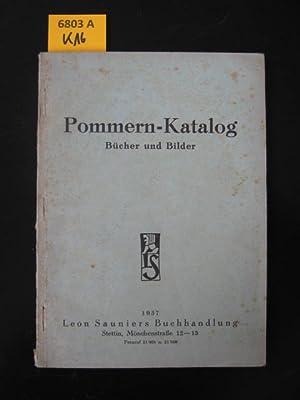 Pommern-Katalog. Bücher und Bilder.