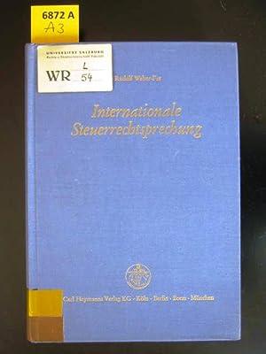 Internationale Steuerrechtsprechung. Die Entscheidungen des Reichsfinanzhofs und Bundesfinanzhofs ...