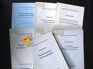 Beiträge zum Rundfunkrecht.: Diverse Autoren.