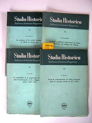 Studia Historica. Academia Scientiarum Hungaricae.: Lederer, E.