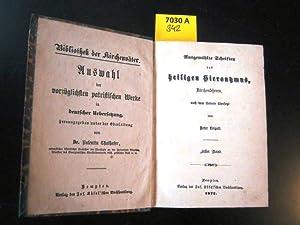 Ausgewählte Schriften des hl. Hieronymus, Kirchenlehrers, nach: Kirchenväter. - Leipelt,