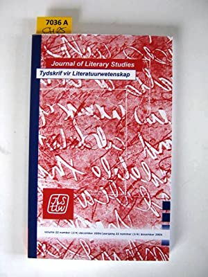 Journal of Literary Studies. June 2006. Tydskrif vir Literatuurwetenskap.: Diverse authors.