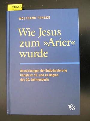 """Wie Jesus zum """"Arier"""" wurde. Auswirkungen der Entjudaisierung Christi im 19. und zu ..."""