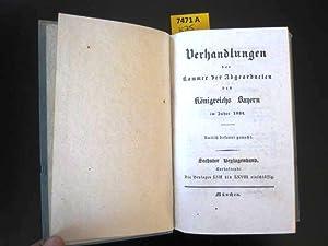 Verhandlungen der Kammer der Abgeordneten des Königsreichs Bayern im Jahre 1834.: ...