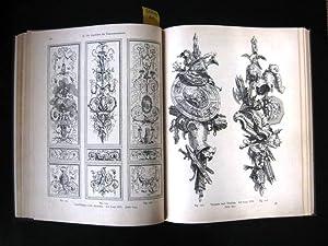 Das Malerbuch. Die Dekorationsmalerei mit besonderer Berücksichtigung der kunstgewerblichen ...
