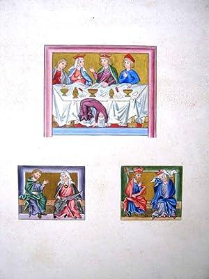 Trachten des christlichen Mittelalters. Nach gleichzeitigen Kunstdenkmalen. Erste Abtheilung. Von ...