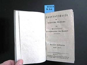 Quartalschrift für katholische Geistliche. Als Fortsetzung dere: Theologie. -