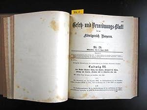 Gesetz-und Verordnungs-Blatt für das Königreich Bayern 1917. Nr. 1 bis einschließ...