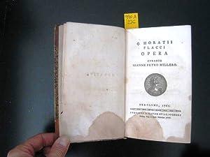 Opera. Curante Ioanne Petro Millero.: Horaz. Horatius, Flaccus Quintus.