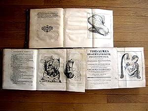 Thesaurus Dissertationum, Programmatum, Aliorumque Opusculorum Selectissimorum; Ad Omnem Midicinae ...