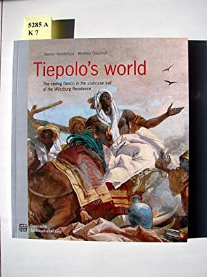 Tiepolo's world. The ceiling fresco in the staircase hall of the Würzburg Residence.: ...