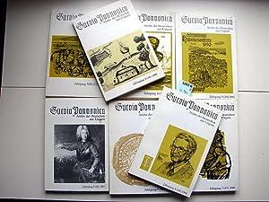 Suevia Pannonica. Archiv der Deutschen aus Ungarn.: Spiegel-Schmidt, Friedrich. Hrsg.
