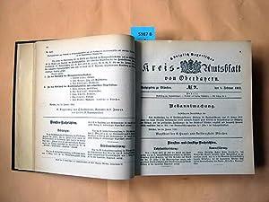 1912. Nr. 1 mit 59. und zwei Separatnummer: Landratsprotokoll. (ausgegeben am 12. Juni 1912 31. ...