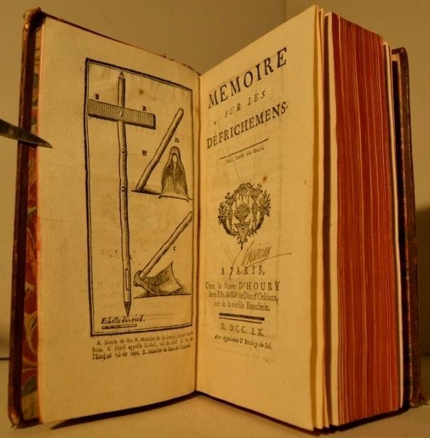 Memoire sur les defrichemens: TURBILLY (Marquis de)