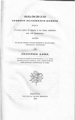 Saggio storico statistico-medico sopra l'antica città di Narona e lo stato presente del...