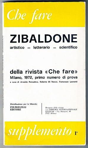 """Zibaldone artistico, letterario, scientifico della rivista """"Che fare"""". Primo numero di ..."""