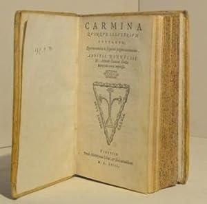 Carmina quinque illustrium poetarum