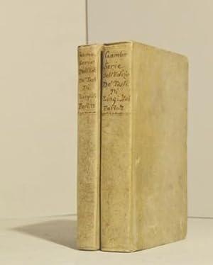 Serie dell'edizioni de' testi di lingua italiana: Gamba Bartolomeo