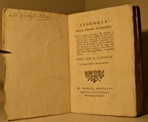 Apologia della pagana eloquenza contro l'opinione di quelli, che reputano la lettura degli ...