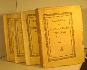 Raccolta di rime antiche toscane. Volume primo [- quarto].: Autori Vari
