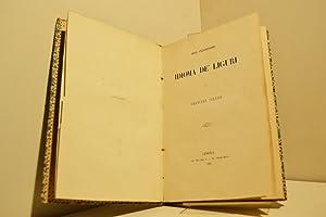 Dell'antichissimo idioma de' Liguri: CELESIA Emanuele