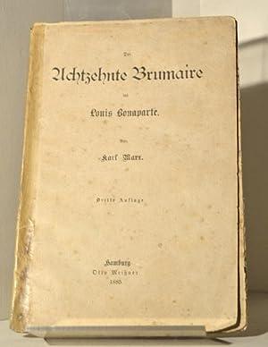 Die achtzehnte Brumaire des Louis Bonaparte: MARX Karl