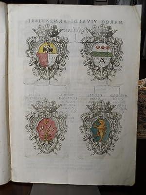 Romana Adscriptionis Albo Nobilium Romanorum per l'Illustrissimo Signor Marco Vivaldi ...