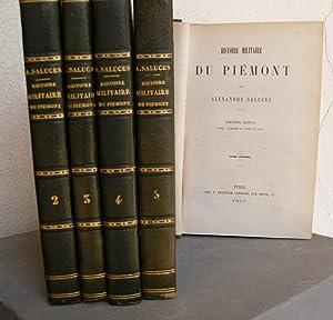 Histoire militaire du Piémont. 2. ed. revue, augm. et ornée de plans: SALUCES ...