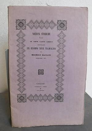 Nozioni storiche divise in nove canti lirici intitolate Il cigno del Tanaro.: SACCATI Michele