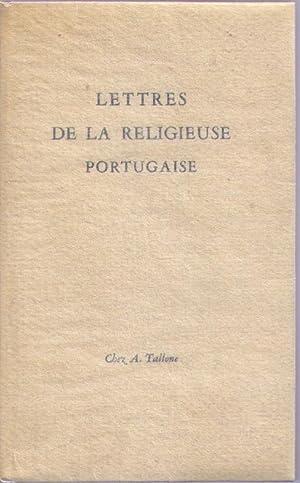Lettres de la religieuse portugaise: ALCOFORADO Mariana