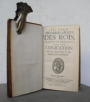 Les deux premiers livres des rois. Traduits