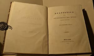 Statistica del dipartimento del Mincio. Opera postuma di Melchiorre Gioja: GIOIA Melchiorre