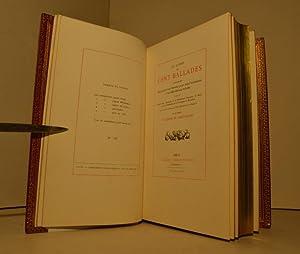Le livre des Cent Ballades contenant des conseils à un Chevalier pour aimer loyalement et ...