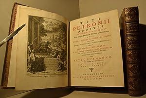 Satyricôn [libri] quae supersunt con integris Doctorum Virotum Commentariis; et notis Nicolai...