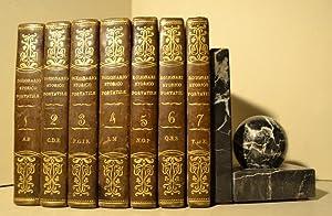Dizionario storico, portatile, che contiene la storia degli uomini illustri nelle arti e nelle ...