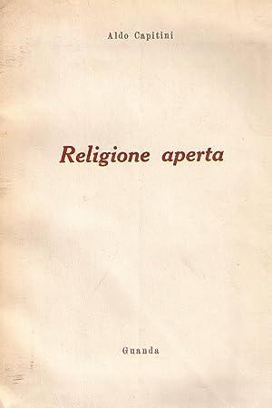 Religione aperta: CAPITINI Aldo