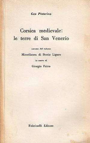 Corsica medievale: le terre di San Venerio: PISTARINO Geo