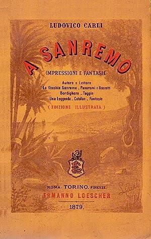 A Sanremo: impressioni e fantasie: CARLI Ludovico