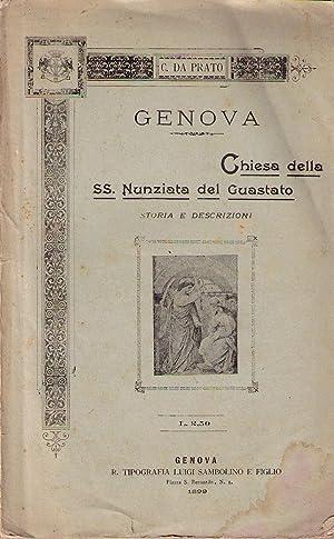 Genova. Chiesa della SS. Nunziata del Guastato: storia e descrizioni: DA PRATO Cesare