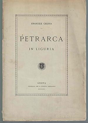 Petrarca in Liguria: CELESIA Emanuele