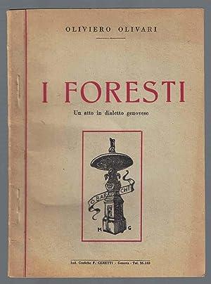 I foresti. Un atto in dialetto genovese: OLIVARI Oliviero