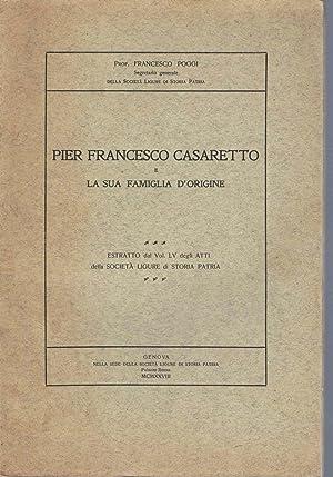 Pier Francesco Casaretto e la sua famiglia d'origine: POGGI Francesco