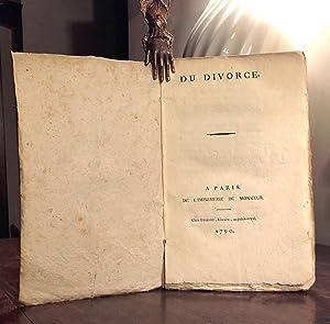 Du divorce: HENNET (Albert-Joseph-Upien)