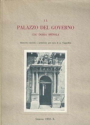 Il Palazzo del Governo già Doria Spinola: memorie storiche e artistiche, per cura di Antonio...