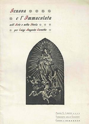 Genova e l'Immacolata nell'arte e nella storia: CERVETTO Luigi Augusto