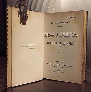 254 jours autour du Monde: CAVAGLION Emile